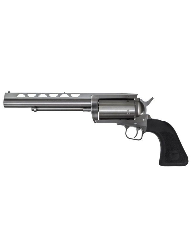 MAGNUM RESEARCH Magnum Research BFR .45 Long Colt-410 Gauge 7.5 Inch Vented Rib Barrel Brushed Stainless Steel Finish 5 Round With Modified Choke and Wrench Rubber Grips