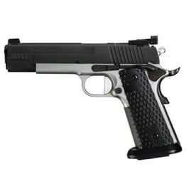 "Sigsauer Sig Sauer 1911 Max 9mm Reverse 2 Tone 5"" 2-9rd Mags Adjustable Sights Ice Magwell"