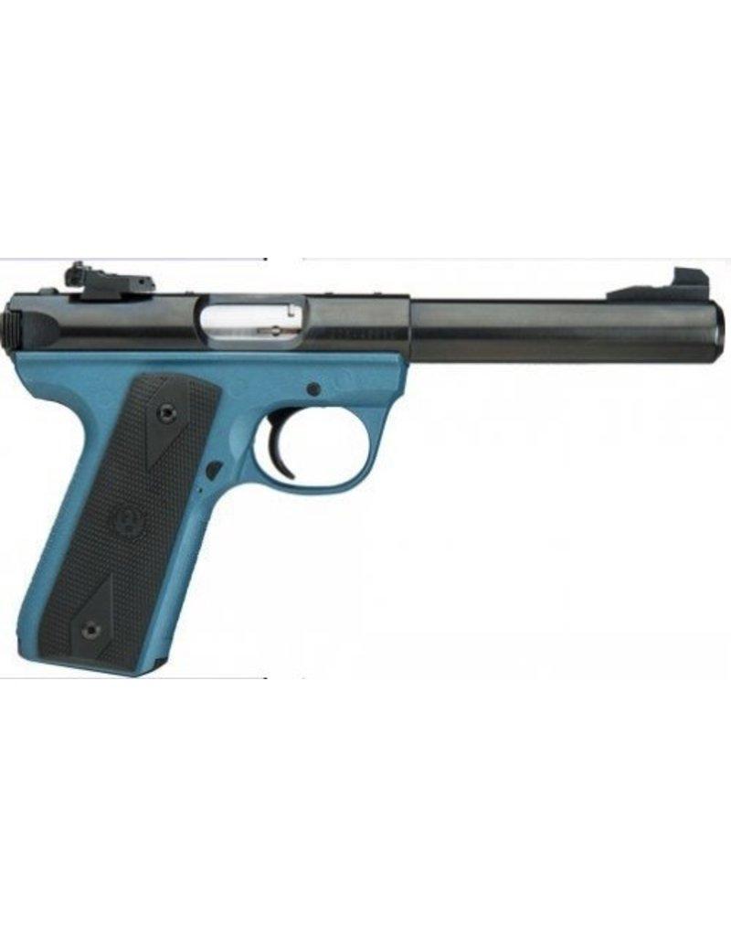 Ruger Ruger MKIII 22/45 22LR Titanium Blue Frame 10+1