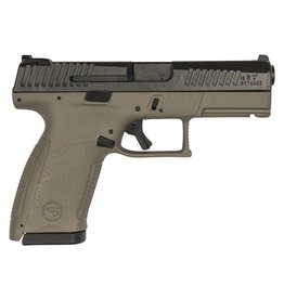 "CZ CZ USA P-10 Compact 9mm Flat Dark Earth 4"" 3 Dot Sights 15rd"