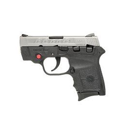 """Smith & Wesson S&W, M&P Bodyguard, Double Action380ACP, 2.75"""" Barrel,Matte Stainless Finish, 6Rd, Crimson Trace Laser, Machine Engraved Slide"""