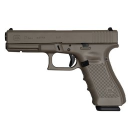 "GLOCK Glock G17 Gen4 Earth Cerakote Elite 9mm 4.48"" 3-15rd Alter"