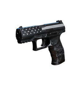 "WALTHER Walther PPQ M2 9MM 4"" Blue Line USC Exclusive 15rd"
