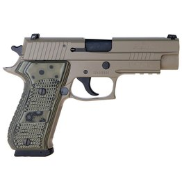 "Sigsauer Sig Sauer P220 Scorpion 45acp 4.4"" 2-8rd FDE Night Sights USED"