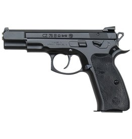 CZ CZ-USA 75 B Omega Convertible 9mm 4.6 Inch Barrel Fixed 3-Dot Sights Decocker/Safety Black Grips 2—10RD Altered
