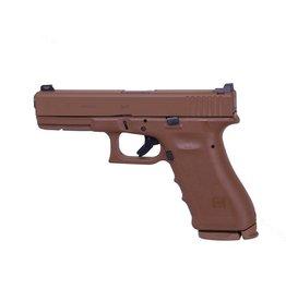 "GLOCK Glock G17 RTF2 9mm Full FDE Vickers Tactical 4.49"" Tritium Front Sight U Rear Notch 2-15rd Alter"