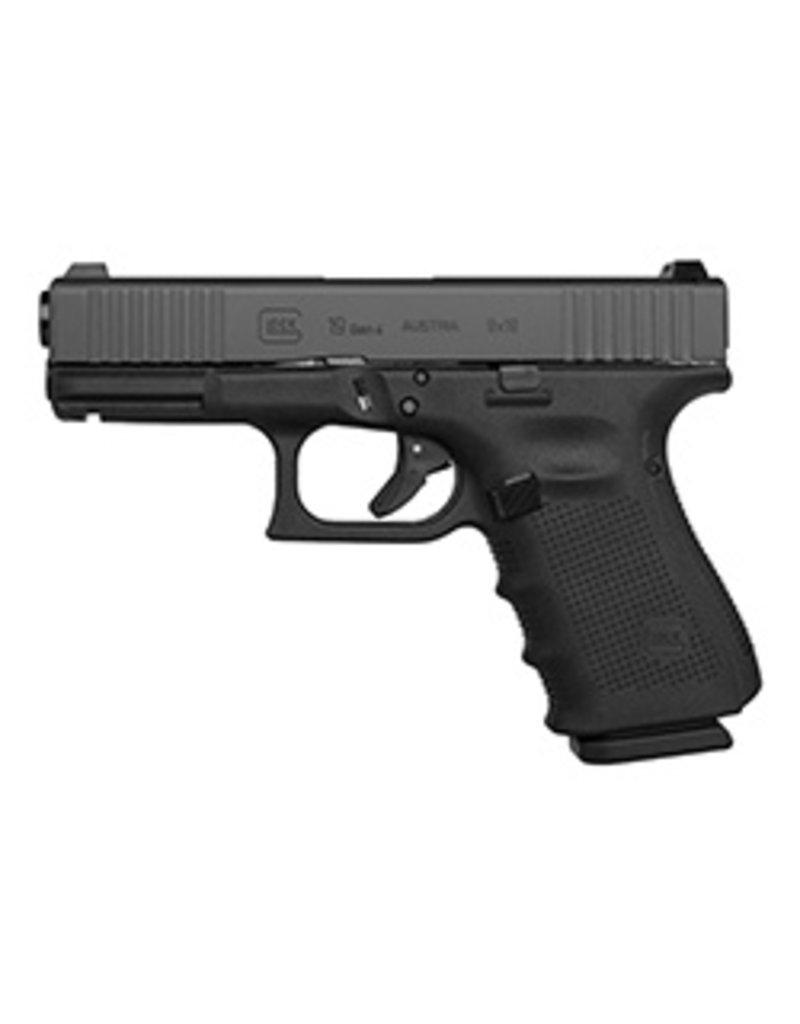 Glock G19 Gen4 BFS Front Serrated Steel Sights 9mm 3-15rd