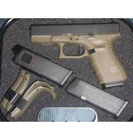 Glock Glock G19 Gen4 OD Green 9mm 4.01 Inch 3-15rd Blue Label