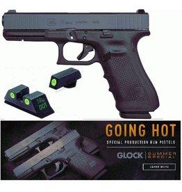 "Glock Glock G17 Gen4 Front Serrated GNS 9mm 4.01"" 3-15rd Alter Blue Label"