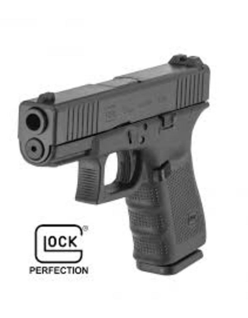 "Glock Glock G19 Gen4 Front Serrated GNS 9mm 4.01"" 3-15rd Alter Blue Label"