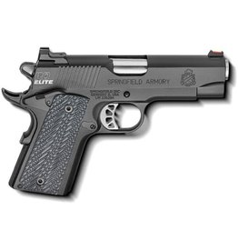 SPRINGFIELD Springfield Armory 1911 RO Elite Compact Limited Edition .45acp 4in 4-6rd Mags Gen 2 Trigger G-10 Grips Fiber Optic Front Sight Holster Mag Pouch Range Bag