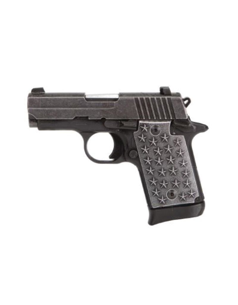 Sigsauer Sig Sauer P238 We The People 238 .380 ACP 2.7In Distressed Finish SAO 1-7rd