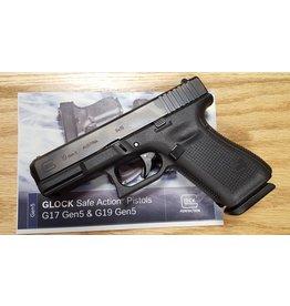 Glock G19 Gen5 9mm 4in Fixed Sights 3-15rd Blue Label
