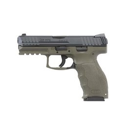 H&K H&K VP9 OD Green 4.09in Barrel 2-15rd Mags
