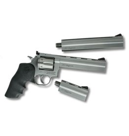 Dan Wesson Dan Wesson 715 .357 Magnum Pistol Pack 4/6/8in Barrels Vented Ribbed Stainless Rubber Mono Grip