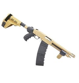 Black Aces Tactical Black Aces Tactical DTS 12Ga FDE 10Rd Stick Mag Spring Assist Pump Breacher
