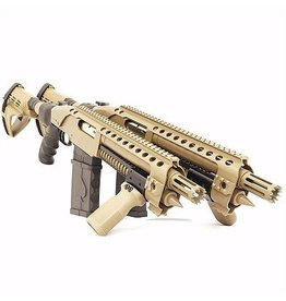 Black Aces Tactical Black Aces Tactical Pro Series 9 DTRS Color Match Rail FDE 8.5in 1-10rd Stick Mag Breacher Spring Assist Pump