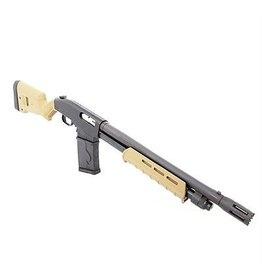 Black Aces Tactical Black Aces Tactical Magpul Special  12Ga 18.5 Breacher Barrel FDE SGA Stock and MOE Forend 10Rd Stick Mag