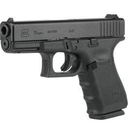 """Glock Glock G19 Gen4 9mm 4.01"""" 2-15rd USED"""
