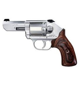 KIMBER Kimber K6S .357 3In Stainless White Dot Sights Smooth Walnut 6 Shot
