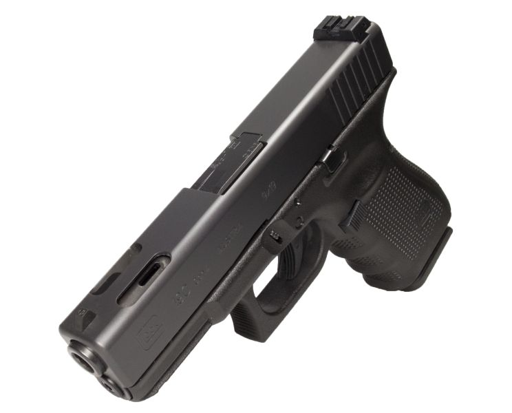 Glock Glock G19C Gen4 9mm 4.01 Inch Compensated 3-15rd Limited Run Blue Label