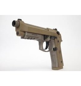 BERETTA Beretta M9A3 9mm FDE 4.9 In Barrel Mags Decock Only Threaded Barrel Night Sights Made In Italy 3-Alter