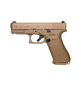 GLOCK Glock 19X 4.01in nDLC Finish Marksman Barrel  nPVD Coyote Brown Ambi Slide Stop Lanyard Loop Night Sights 3-Alter