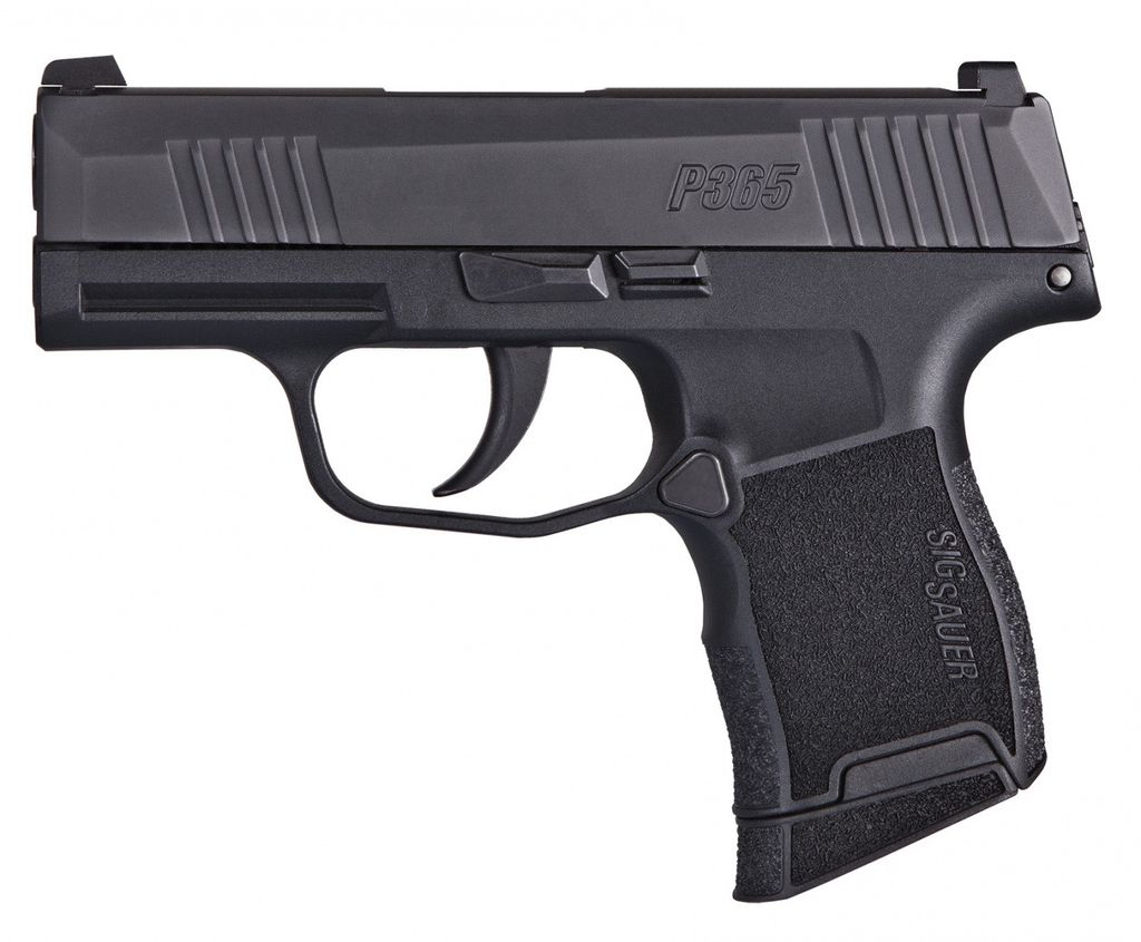 Sigsauer Sig Sauer P365 3.1In 9mm Nitron XRAY 3 Day/Night Sights 2-10Rd