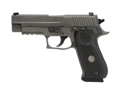 "Sigsauer Sig Sauer P220 Legion .45acp 4.4"" Gray SAO X-Ray Sights Blk G10 Grips 3-8rd"