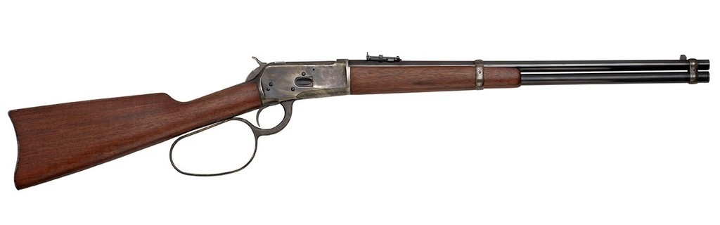 Taylor's & Co Taylor & Co. Chiappa 1892 Rio Bravo .357 Mag 20In Blued Finish Case Hardened Frame Large Loop Walnut Stock