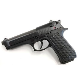 BERETTA Beretta M9 Commercial Langdon Special 9mm Decock Only Hi Vis Front Sight Slim VZ Grips Oversized Mag Release Gen 3 Locking Block Steel Trigger<br /> 3-15rd Mags