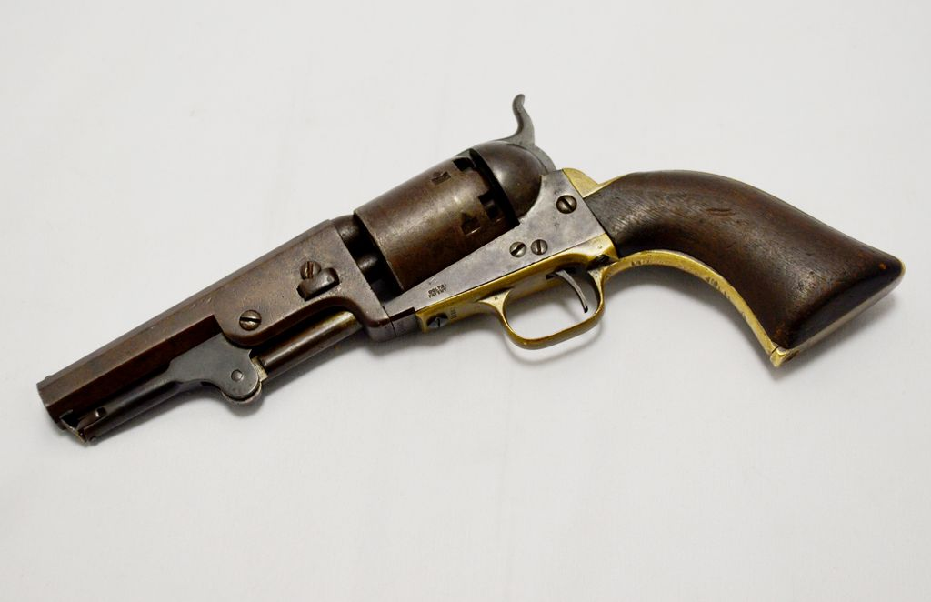 COLT Colt 1849 Pocket Revolver .36Cal 5In Percussion Mfg 1850