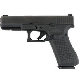 GLOCK Glock G17 Gen5 9mm 4.49In nDLC Finish Marksman Barrel Flared Mag Well Ameriglo Bold Night Sights 3-10rd