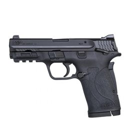 Smith & Wesson Smith & Wesson M&P Shield EZ .380 ACP 3.6 Inch Barrel Black Finish Polymer Frame White Dot Front Sight Adjustable White Dot Rear Sight Thumb Safety 8 Round