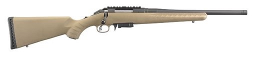 Ruger Ruger American Ranch 7.62x39 FDE 16In Threaded Barrel 1-5rd Mini 30 Magazine