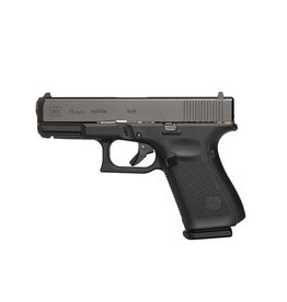 GLOCK Glock G19 Gen5 9mm 4.0In nDLC Finish Marksman Barrel Flared Mag Well 3-10rd