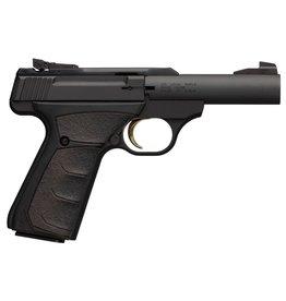 "Browning Browning Buck Mark Micro Bull Single 22 Long Rifle (LR) 4"" 10+1 Black Ultragrip FX Grip Black Aluminum Alloy"