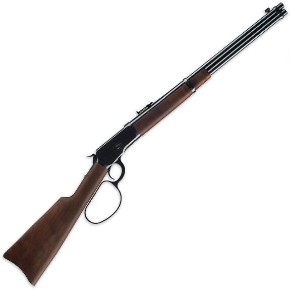 Winchester Winchester 1892 Large Loop Carbine 44-40 16in Saddle Ring Blued Walnut Stock - USED UNFIRED