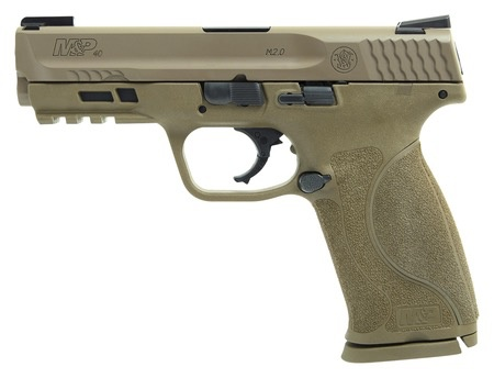 Smith & Wesson Smith & Wesson M&P40 M2.0 4.25In FDE Truglo TFX 2-10Rd Alter