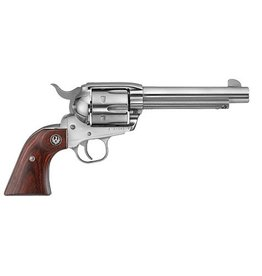 Ruger Ruger Vaquero 45 Colt 5.5In Stainless Hardwood Grips