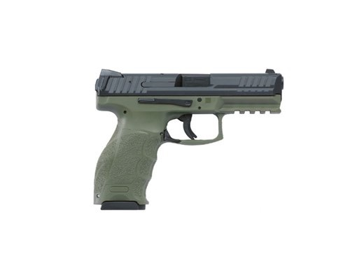 H&K Heckler & Koch VP9 OD Green 4.1In 2-10rd
