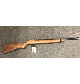 Ruger Ruger 10/22 22LR Wood Stock Blued 1-10rd USED w/ CASE