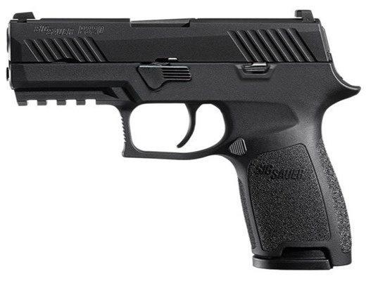 Sigsauer Sig Sauer P320 3.9In Compact 9mm 2-10Rd