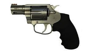 COLT Colt Cobra .38 SPL +P 2in Fiber Optic Front Sight  Matte Stainless 6 Shot Hogue Overmolded Grip