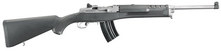 Ruger Ruger Mini 30P Ranch Rifle 7.62x39mm Russian 18.5 Inch Stainless Steel Barrel Synthetic Stock 2-15rd Alter