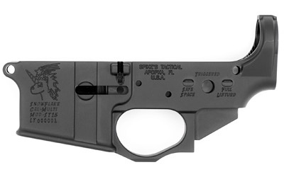 Spike's Tactical Spike's Tactical STLS030 Snowflake Stripped Lower 5.56 Black Non-Color