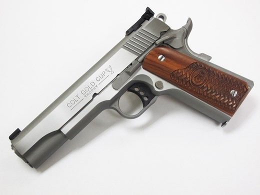 COLT Colt Gold Cup Trophy 45acp Stainless 5In Basketweave Grips Talo Exclusive 8rd Only 600 Made
