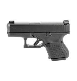 GLOCK Glock G26 Gen5 9mm 3.42In nDLC Finish Marksman Barrel Flared Mag Well Ameriglo Bold Night Sights 3-10rd