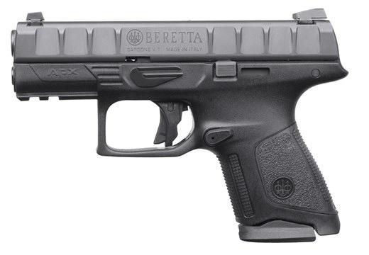 BERETTA Beretta APX Compact 9mm 2-10rd Picatinny Rail 3 Dot Sights Backstraps
