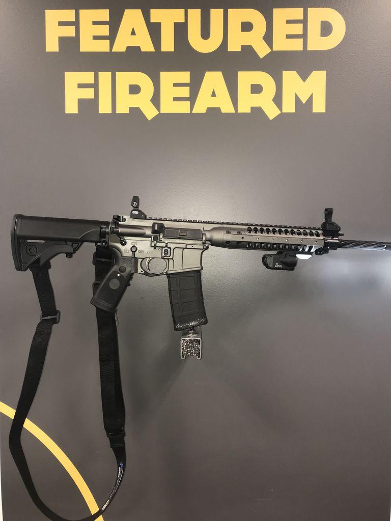 RTSP RTSP CQB Laser Rifle Package<br /> LWRC IC-Enhanced Target Grey<br /> Crimson Trace LINQ<br /> Magpul MS1 QD Sling Swivel<br /> Blue Force Gear Sling